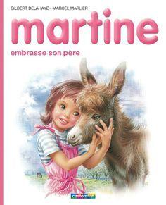 Martine Embrasse son Père