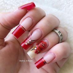 Nagellack Trends, Coffin Nails Long, Ballerina Nails, Cute Nail Art, Hot Nails, Square Nails, 20 Min, Nail Trends, Nails Inspiration