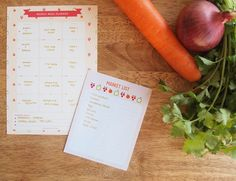 Free Simple Meal Planner