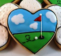 Gourmet homemade sugar cookiesgolf by Dixiefixns on Etsy, $24.99