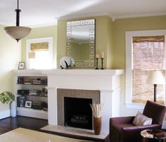 Brick Fireplace Before And After | Before & After: Fireplace Facelift | Apartment Therapy