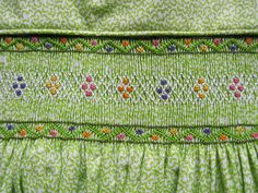 Smocked by Marianela - Okay, so this one isn't a free chart; but I bet I can figure it out.
