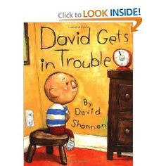 Picture story book- This book is about david and what he says to is mother that gets him in trouble. THis book can teach children how to respond whenever their parents or teachers ask them to do something. Teaches them a lesson.