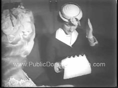 School for Hats Milady Matriculates in Millinery Modes newsreel archival stock footage