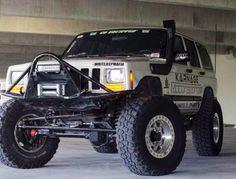 Jeep Xj lifted