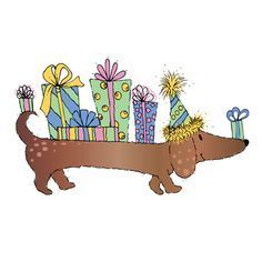 dachshund birthday image - Google Search