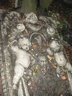 Ancient Jewish Cemetery - Jeshurum-Diaz family -- Jewish Ghetto, Venice, Italy