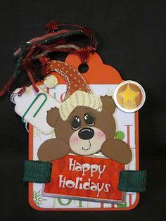 Creations by Kahaulani: Christmas Scrapbook Tags