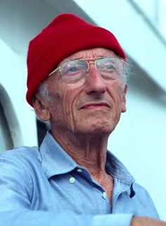 Jacque Cousteau. Who could ever forget about him and his work!