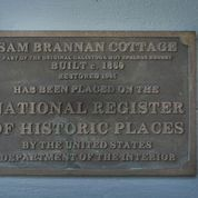 Proud of our plaque showing our Inn is on the National Register of Historic Places.
