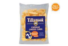 Tillamook Cheese Curds -- aka Squeaky Cheese. Sold only at the Cheese Factory!@Hannah Robertson Schwanekamp