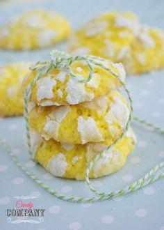 Ciasteczka cytrynowe z kokosem