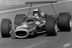 Courage 1968 Mexico BRM P126