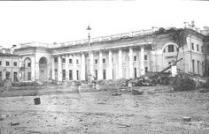 Alexander Palace - WWII damage.