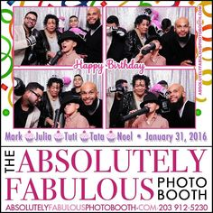 The #absolutelyfabulousphotobooth was at the #PineRestaurant in #theBronx NY for an #JanuaryBirthdays celebration.  Call (203) 912-5230 for #PhotoBooth availability for your #CorporateEvent #HeadShots #Birthday #Sweet16 #Wedding #BarMitzvah #BatMitzvah #Fundraiser and all occasions in #NY #NJ #CT. @gigmasters #Gigpics #PicPicSocial #PicPlayPost #eventplanner #weddingplanner #entrepreneur #business #schoolevents #annualevents