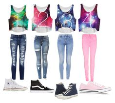 """""""YOU CHOOSE"""" by candygirl156 ❤ liked on Polyvore featuring Current/Elliott, G-Star, Converse and Vans"""