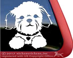 Exclusive Shih Tzu decals & Shih Tzu stickers with many Shih Tzu designs & styles to choose from. Easy for you create custom decals & stickers, choose color, size & add text. Chien Shih Tzu, Shih Tzu Puppy, Shih Tzus, Custom Decal Stickers, Vinyl Decals, Car Decal, Window Decals, Dog Care, Adhesive Vinyl