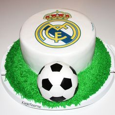 Real Madrid fødselsdagskage - Real Madrid birthday cake