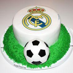 Real Madrid fødselsdagskage - Real Madrid birthday cake