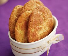 Snickerdoodle Cookies Recipe by Alice Medrich | Maypurr