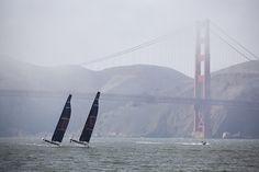 America's Cup - San Francisco 2013: practice runs