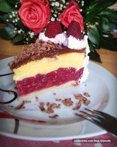 Ledena torta sa malinama — Coolinarika