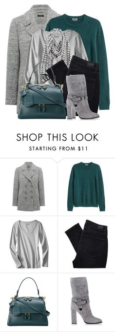 """Chic Fall Layers!"" by brendariley-1 ❤ liked on Polyvore featuring M&Co, Paige Denim, Victoria Beckham, Le Silla, layers and fallfashion"