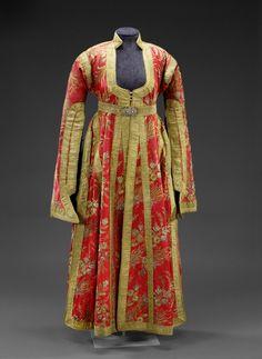 Woman's outer garment or dress, 1870's, Sarajevo, Bosnia, then Austria-Hungary.