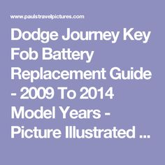 Battery+Replacement+20092014+Dodge+Journey++2010+Dodge