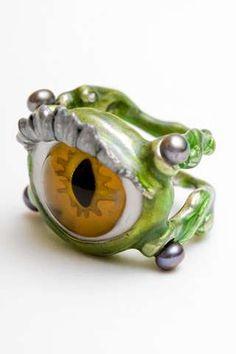 Murano Glass Eyeballs  Delifina Delettre Fendi's Beasties