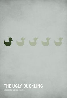 Ugly Duckling poster by Christian Jackson