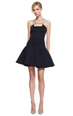 Cushnie Et Ochs Neoprene Double Strap Party Dress by Cushnie et Ochs for Preorder on Moda Operandi