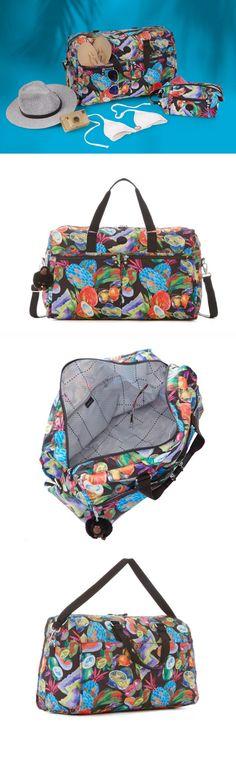 461510b55 neeeeed this travel tote for summer and beyond! @kiplingusa amei essa bolsa!