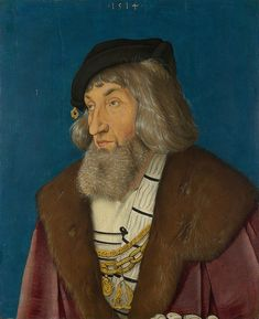 Hans Baldung Grien (1484/5 - 1545), 'Portrait of a Man', 1514.The National Gallery, London.© The National Gallery, London.
