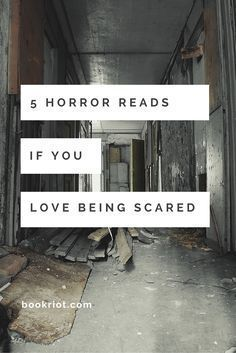 Fancy yourself a horror fan? Want to try a scary read? Here are 5 books you should pick up.
