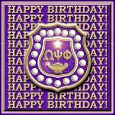 Alpha Kappa Alpha Sorority, Delta Sigma Theta, Sorority Life, Sorority And Fraternity, Happy Birthday Husband, Happy Belated Birthday, Birthday Messages, Birthday Wishes, Birthday Cards
