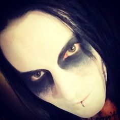 @brent_ashley from the band Combichrist loves our #GothWhite!