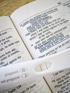 Love this pregnancy announcement idea using one of my favorite scriptures, Psalm 139:13-14.