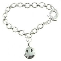 Links Of London Bracelet Happy Face Charm