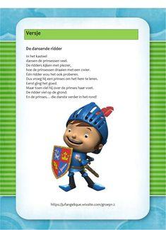 Versje: De dansende ridder Castle, Teaching, Boys, Scrabble, Knights, Fictional Characters, Study, Carnival, Castles