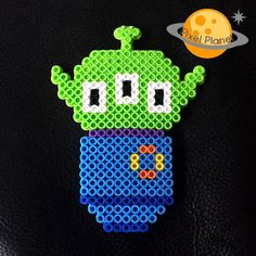 Alien - Toy Story perler beads by pixel_planet_