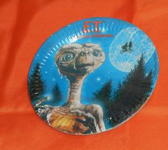 vintage E.T. THE EXTRA-TERRESTRIAL PAPER PLATES by C.A. Reed new/sealed  #Reed