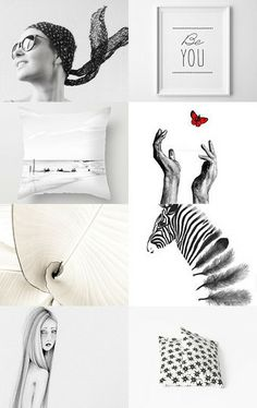 Black Or White?  by Joanna on Etsy--Pinned with TreasuryPin.com