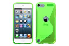 Crystal Matte S-Line Flexible Soft TPU Rubber Protector Cases for iPod touch 5th Gen | Lagoo Tech