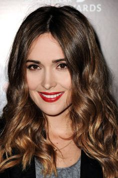classic red lip and perfect brunette color Angelo Seminara, Rose Byrne, Provocateur, Brunette Hair, Brunette Color, Hair Today, Gorgeous Hair, Beautiful, Hair Dos