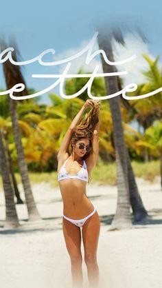 Beach Girl Bikini Summer Cool #iPhone #5s #wallpaper