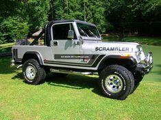 Pin by Douglas King on Jeep Scrambler New Jeep Truck, Cj Jeep, Jeep Cj7, Jeep Pickup, Jeep Wranglers, Cool Jeeps, Cool Trucks, 4x4, Ducati Scrambler