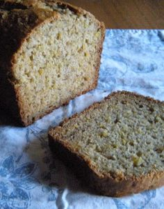 Banana Bread with a healthy dose of protein, iron, and magnesium because it's made with quinoa!!  From 365 Days of Baking