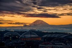 Sunrises in Seattle