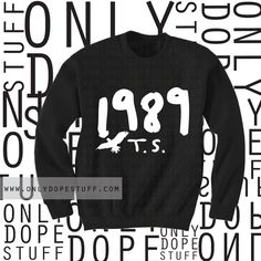 Taylor Swift 1989 Sweatshirt